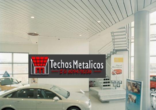 Techos de aluminio en Benifallim