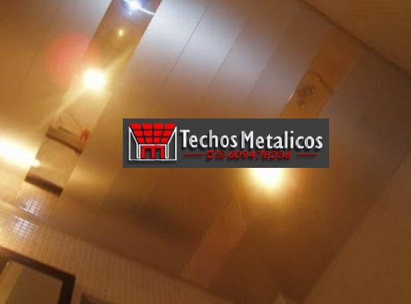 Techos de aluminio en Benimarfull
