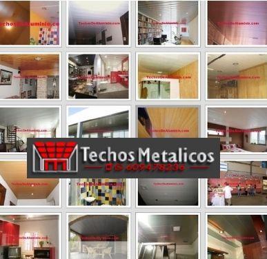 Techos de aluminio en Benimassot