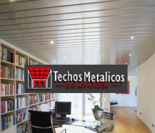 Techos de aluminio en Benizalón