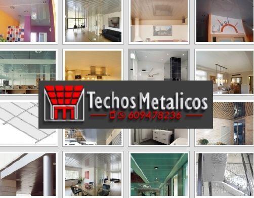 Techos de aluminio en Bigastro