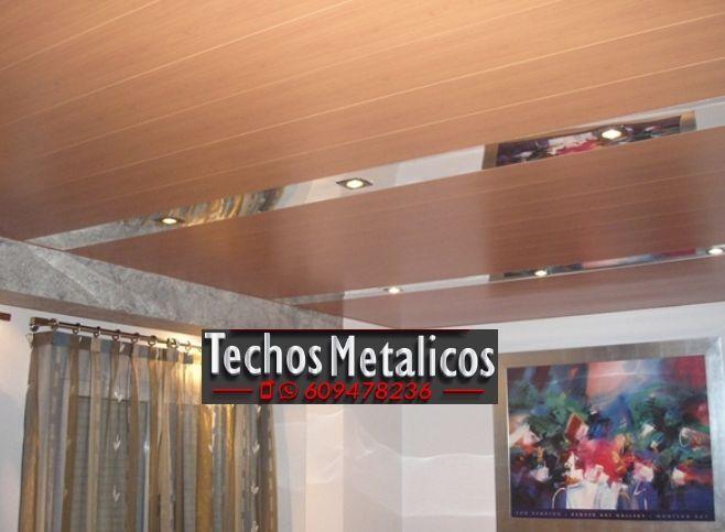 Techos de aluminio en Blascosancho