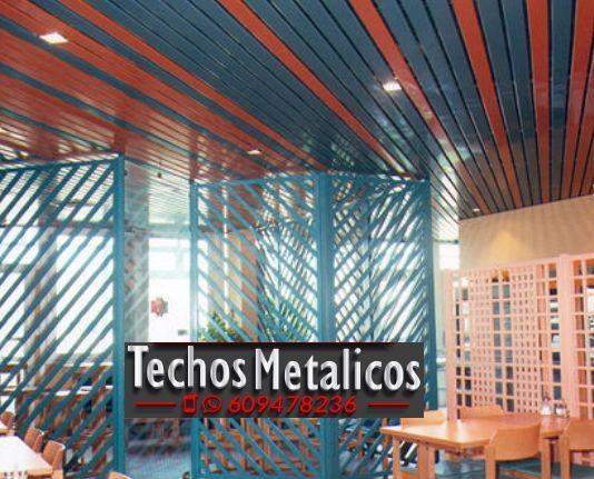Techos de aluminio en Bohoyo
