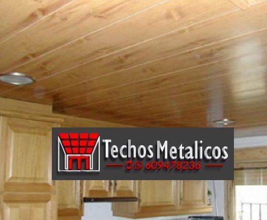 Techos de aluminio en Bularros