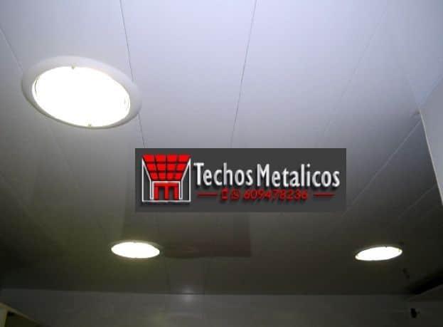 Techos de aluminio en Busot