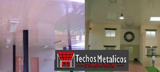 Techos de aluminio en Campo de Villavidel
