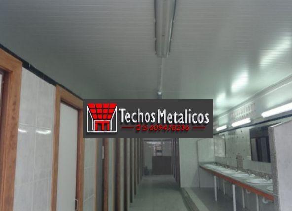Techos de aluminio en Camprovín