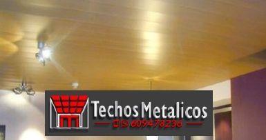 Techos de aluminio en Carboneras