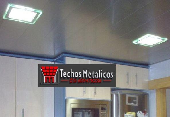 Techos de aluminio en Casas de Lázaro