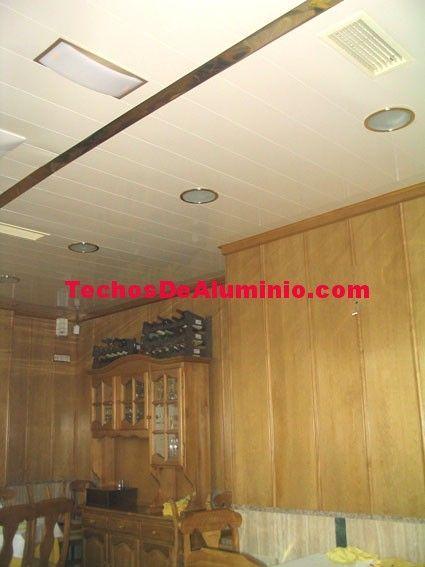Techos de aluminio en Casas de Ves