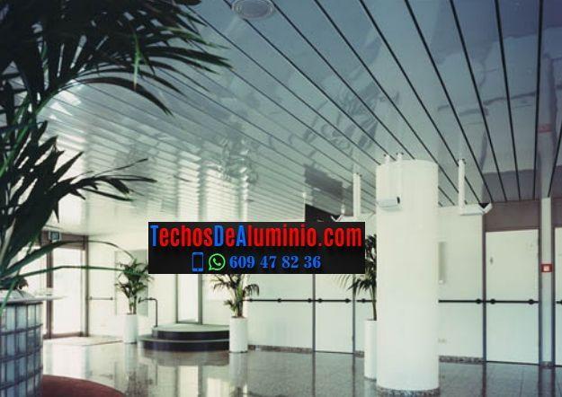 Techos de aluminio en Casasola
