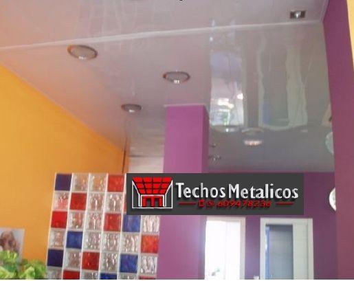Techos de aluminio en Castellanos de Zapardiel