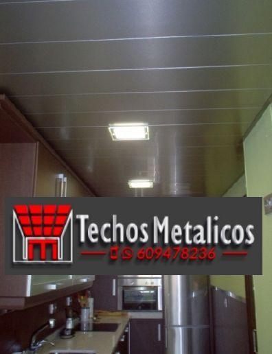 Techos de aluminio en Congosto