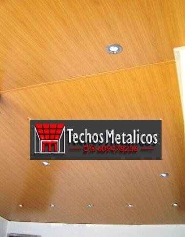 Techos de aluminio en Corbillos de los Oteros