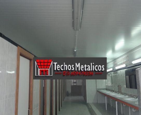 Techos de aluminio en Corral Rubio