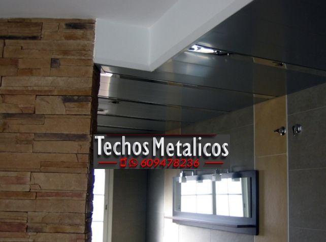 Techos de aluminio en Cox