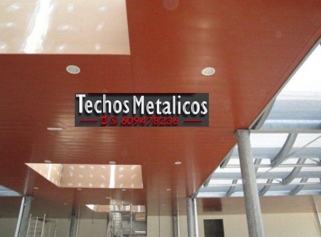 Techos de aluminio en Daya Nueva