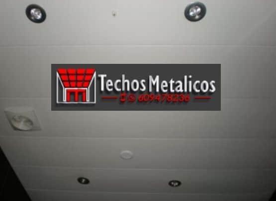Techos de aluminio en El Fresno