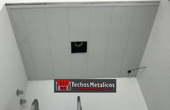 Techos de aluminio en El Hoyo de Pinares