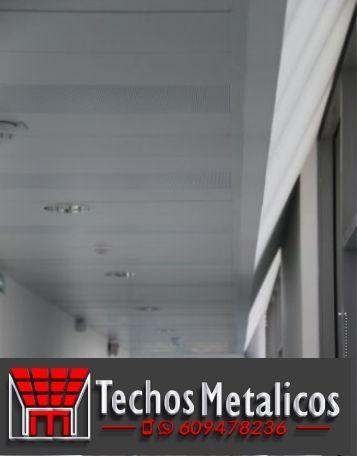 Techos de aluminio en El Tiemblo