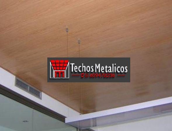 Techos de aluminio en Elche de la Sierra
