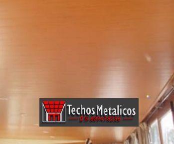 Techos de aluminio en Famorca