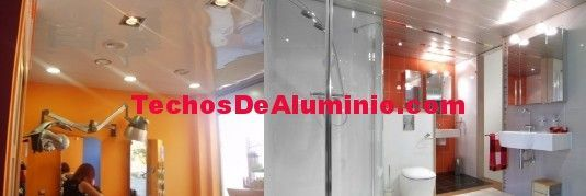 Techos de aluminio en Fiñana