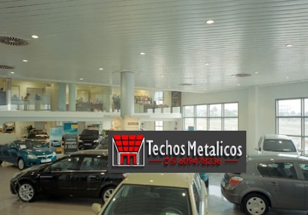 Techos de aluminio en Frailes
