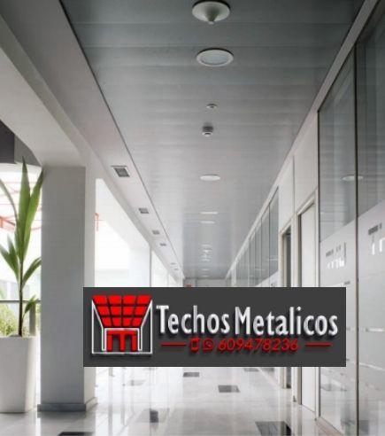 Techos de aluminio en Fuensanta
