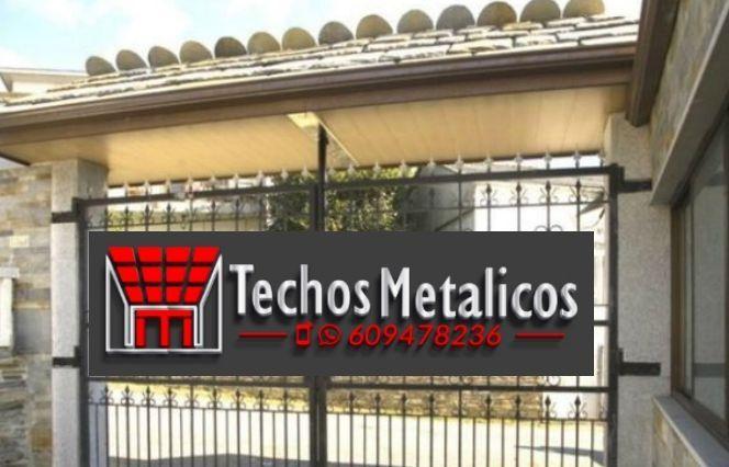 Techos de aluminio en Fuente Álamo