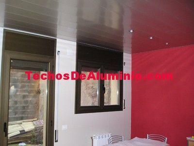 Techos de aluminio en Garganta del Villar
