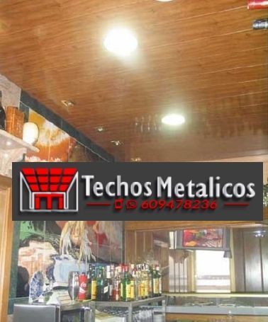 Techos de aluminio en Gil García