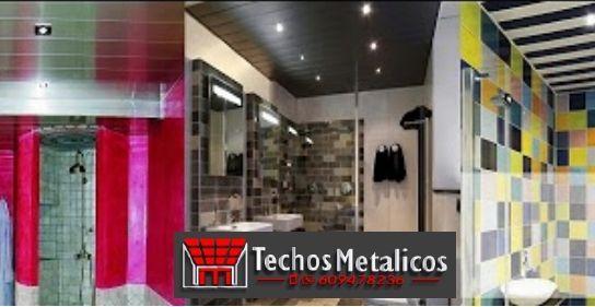 Techos de aluminio en Golosalvo