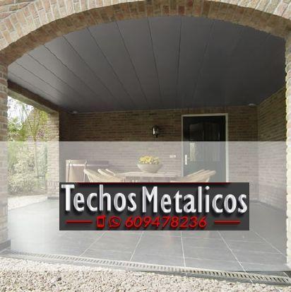 Techos de aluminio en Gorga