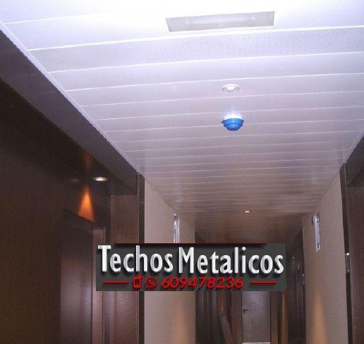 Techos de aluminio en Guarromán