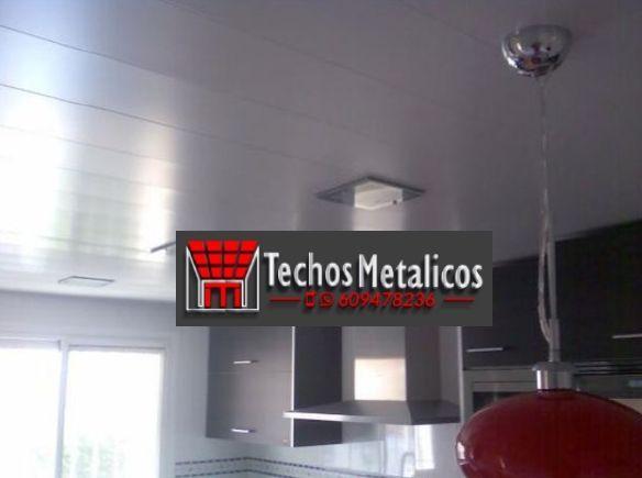 Techos de aluminio en Gutierre Muñoz