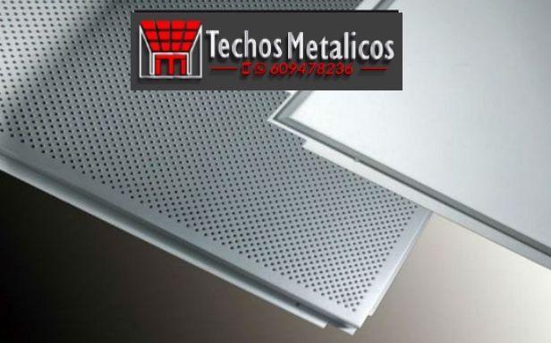 Techos de aluminio en Herradón de Pinares