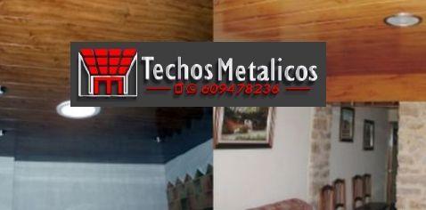 Techos de aluminio en Higueruela