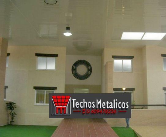 Techos de aluminio en Hondón de los Frailes
