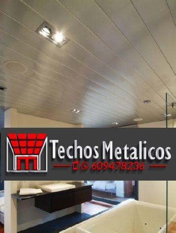Techos de aluminio en Horcajo de las Torres