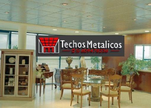 Techos de aluminio en Hoyos de Miguel Muñoz