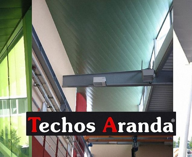 Techos de aluminio en Huesa