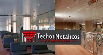 Techos de aluminio en Igriés
