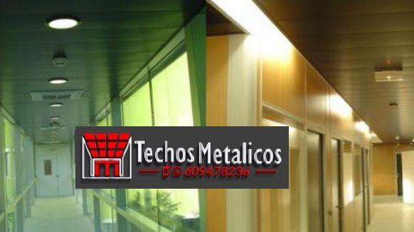 Techos de aluminio en Isona i Conca Dellà