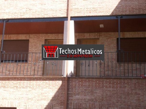 Techos de aluminio en La Adrada