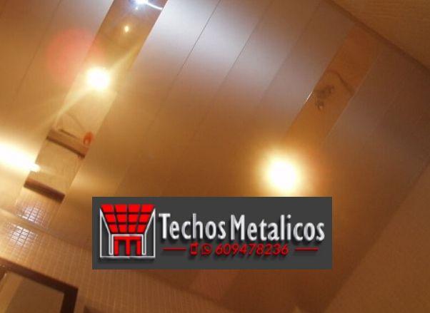 Techos de aluminio en La Herrera
