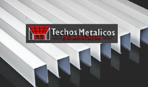 Techos de aluminio en La Romana