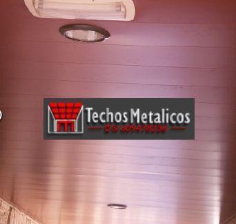 Techos de aluminio en Laroya