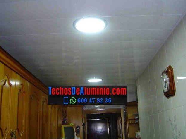 Techos de aluminio en Linyola