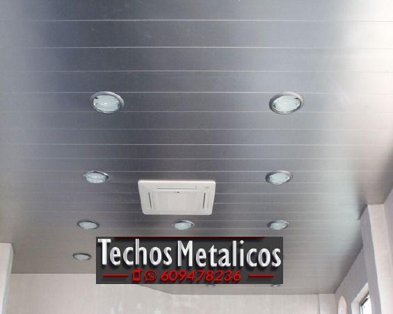 Techos de aluminio en Los Gallardos